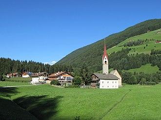 Ahrntal - Church of Sankt Martin in Ahrntal Valley