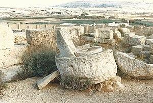 San Pawl Milqi - Roman remains at San Pawl Milqi