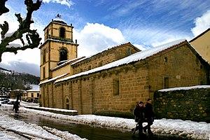Teverga - Image: San Pedro de Teverga 1