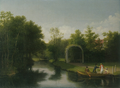Sanderumgaard Løvhytte Eckersberg 1807.png