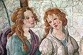 Sandro botticelli, venere e le tre grazie offrono doni a una ragazza, forse giovanna degli albizzi, 1483-1485 ca., da villa lemmi, firenze 02.jpg