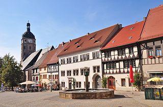 Sangerhausen Place in Saxony-Anhalt, Germany