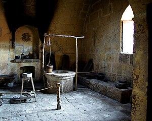 Santa Catalina Monastery - Image: Santa Catalina Monastery kitchen Stevage