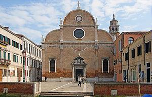 Carmini - Image: Santa Maria dei Carmini (facade)