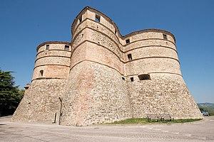 Sassocorvaro - Rocca of Sassocorvaro, where artworks were hidden during World War II.