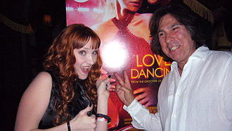 Bruce Robb - With Scarlett Pomers Premiere 2009