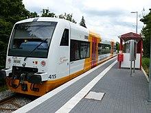 A RegioShuttle in Böblingen Süd