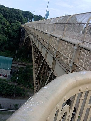 Schenley Bridge - Image: Schenley Bridge 6