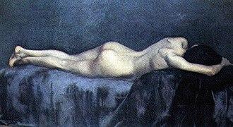Eduardo Schiaffino - El Reposo (The Repose, 1889), exhibited at the National Museum of Fine Arts.