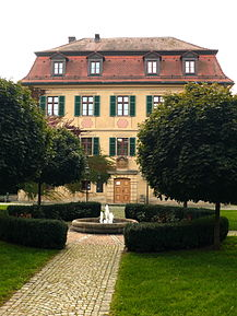 Tretzendorf Castle, today the town hall of Oberaurach