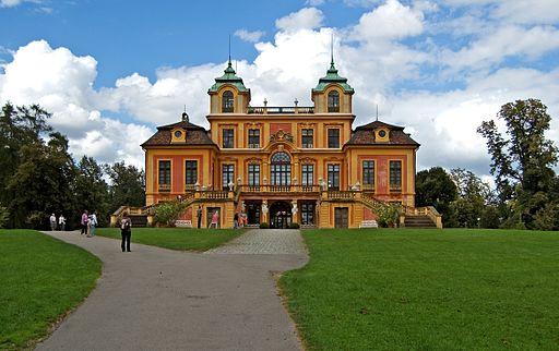Schloss Favorite Vorderseite