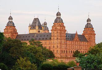 Electorate of Mainz - Image: Schloss Johannisburg Aschaffenburg