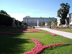 Electorate of Salzburg - Ferdinand's residence Mirabell Palace