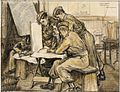School Cadets Map Reading Art.IWMARTLD3469.jpg