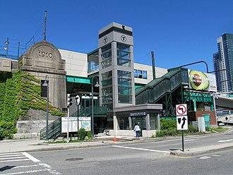 Science Park station (MBTA) - Science Park station in June 2017