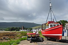 Scotland, Isle of Arran, Lamlash, the seafront.JPG