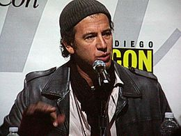Scott Rosenberg at WonderCon 2010.JPG