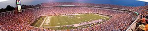 Scott Stadium - Image: Scott Stadium panorama 2003