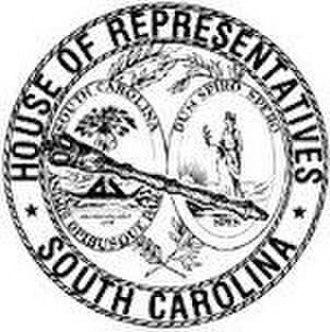 South Carolina House of Representatives - Image: Seal of the House of Representatives of South Carolina