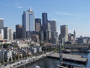 History of Seattle since 1940 - Downtown Seattle, 2009