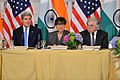 Secretaries Kerry, Pritzker, and Moniz Participate in the U.S.-India Joint Strategic and Commercial Dialogue Opening Plenary in Washington (21006371884).jpg