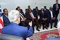 Secretary Kerry Gestures Toward Three Regional Leaders in Somalia (16760513803).jpg