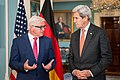 Secretary Kerry and German Foreign Minister Steinmeier Address Reporters in Washington (27836042674).jpg