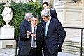 Secretary Kerry and Ukrainian Foreign Minister Deshchytsia Look at the Foreign Minister's Cell Phone (12949916755).jpg