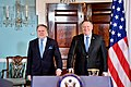 Secretary Pompeo and Greek Acting Foreign Minister Katrougalos Prepare to Address Reporters in Washington (46305614571).jpg