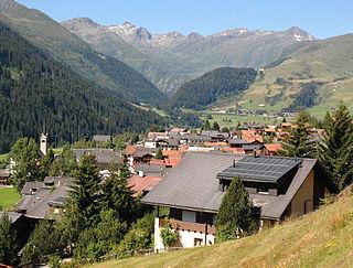 Tujetsch Municipality of Switzerland in Graubünden