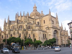 Segovia Cathedral Exterior.JPG