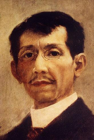 Félix Hidalgo - Self portrait Félix Resurrección Hidalgo, 1901