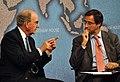Senator George Mitchell and Dr Robin Niblett (6256939735).jpg