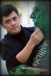 Sergio Peraza Mexican sculptor