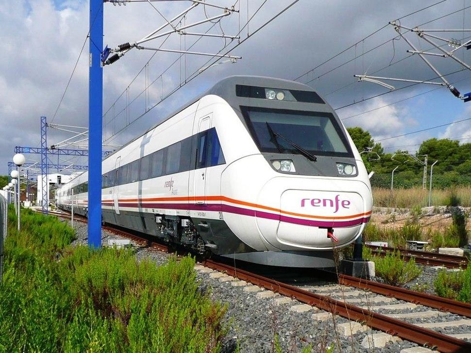 InterCity járat Spanyolországban