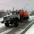 Sewage cleaning machine at Komsomolskaya Street in Salekhard (2).jpg
