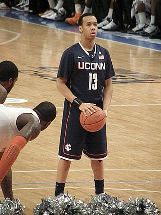 Shabazz Napier - Napier playing for the University of Connecticut in 2011