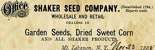 Shaker Seed Company