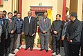 Sharad Pawar inaugurated the newly constructed North Academic Block of the College of Agriculture Engineering and Post Harvest Technology, near Ranipool, in Sikkim. The Governor of Sikkim, Shri Shriniwas Patil.jpg