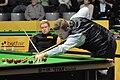 Shaun Murphy and Ben Woollaston at Snooker German Masters (DerHexer) 2013-01-30 03.jpg