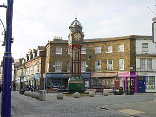 Sheerness town on the Isle of Sheppey in Kent, England