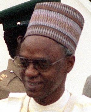 Shehu Shagari - Image: Shehu Shagari 1980 10 07