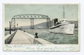 Ship Canal and Aerial Bridge, Duluth, Minn (NYPL b12647398-68818).tiff