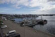 Ships at Kiel, Germany after BALTOPS 2014.JPG