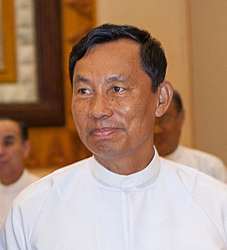 Speaker of the House of Representatives of Myanmar - Image: Shwe Mann