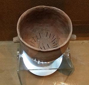Food steamer - A Bronze Age siru (traditional Korean steamer)