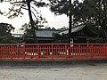 Side view of Chokushikan Hall of Kashii Shrine.jpg