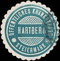 Siegelmarke Öffentliches Krankenhaus Hartberg-Steiermark W0343903.jpg