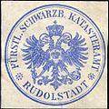 Siegelmarke Fürstlich Schwarzburgisches Katasteramt - Rudolstadt W0259820.jpg