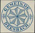 Siegelmarke Gemeinde Deesbach W0385133.jpg